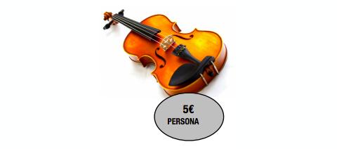 Taller monográfico de violín en San Sebastian